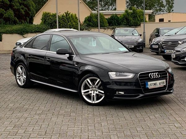 Audi A4 2.0 TDI S LINE 175BHP 4DR * HALF LEATHER, CRUISE CONTROL, CLIMATE CONTROL, BLUETOOTH, REVERSE SENSORS, FINANCE THIS CAR FOR €67 PER WEEK * (2015 (151))