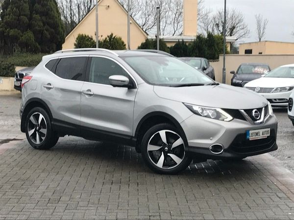 Nissan Qashqai 1.5 SV PREMIUM * LEATHER, HEATED SEATS, SAT NAV, 360 CAMERA, BLUETOOTH, FINANCE THIS CAR FOR ONLY €73 PER WEEK * (2017 (171))