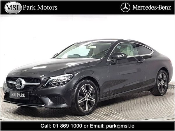 Mercedes-Benz C-Class 200 Coupe EQ Mild Hybrid - Automatic - €6,737 worth of extras - Brand new and available for immediate delivery at MSL Park Mercedes-Benz (2021 (212))