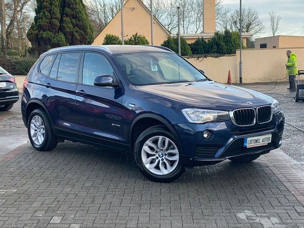 BMW X3 SDRIVE SE AUTO * SAT NAV, LEATHER, HEATED SEATS, BLUETOOTH, CRUISE CONTROL, FINANCE THIS CAR FOR ONLY €144 PER WEEK  * (2018 (181))