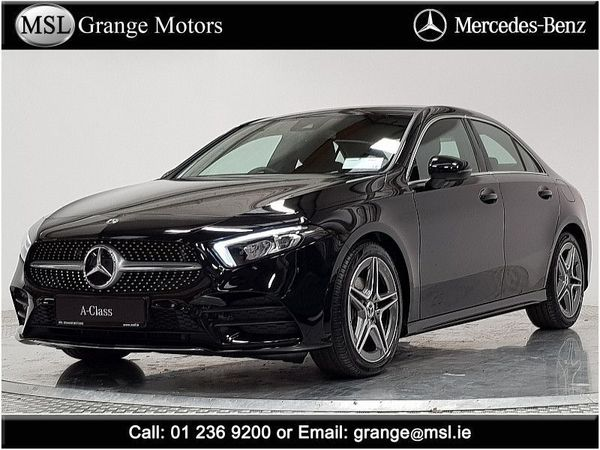 Mercedes-Benz A-Class Sales by appointment only please call Brian Downes on 0873458451 A180 D Saloon AMG Sport Auto (2020 (201))