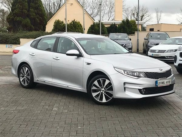 Kia Optima 3 CRDI ISG * HALF LEATHER, REVERSE CAMERA, SAT NAV, BLUETOOTH, CRUISE CONTROL, HEATED SEATS, FINANCE THIS CAR FOR ONLY €60 PER WEEK * (2016 (161))