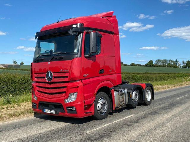 2013 (13) Mercedes-Benz Actros Image