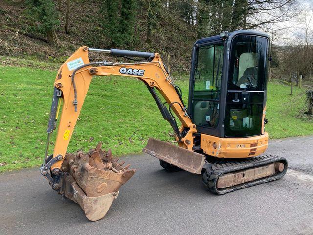 2014 Case CX26B ZTS 2.7 Ton Mini Digger Image