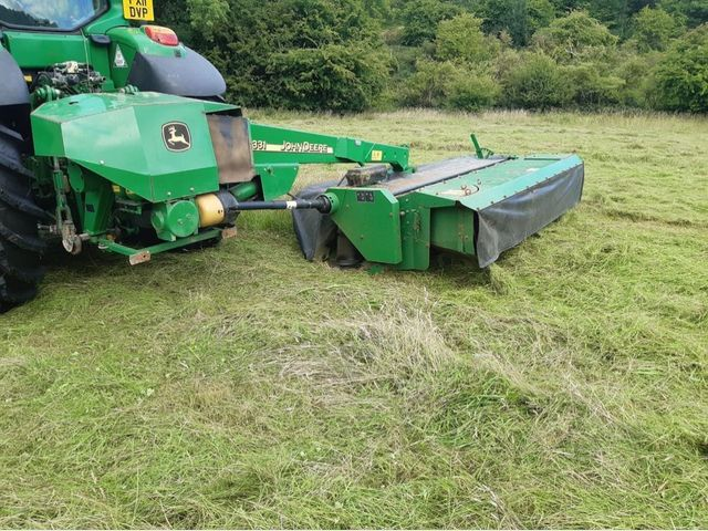 2010 John Deere 331 Mower Conditioner Image