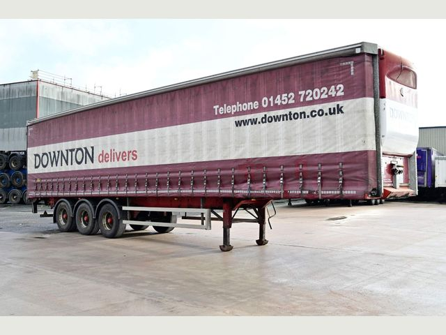 2013 Cartwright 4.2M CURTAINSIDE TRAILER Image