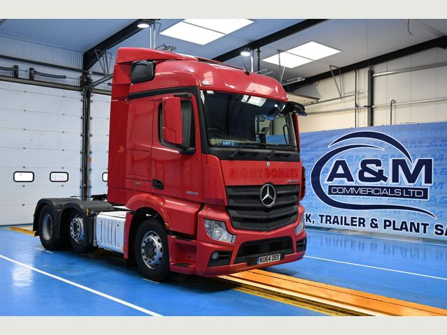 2014 (64) Mercedes-Benz ACTROS 2543 STREAMSPACE EURO 6 Image