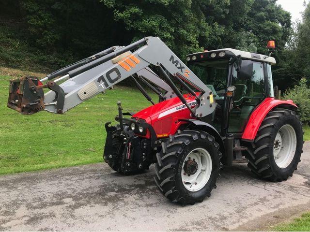 2006 Massey Ferguson 5455 Tractor C/W MX T10 Loader Image