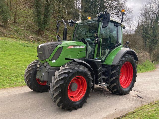 2018 Fendt 313 Vario Tractor Image