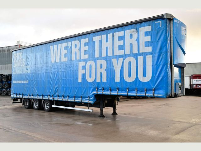 2016 Tiger Trailers 4.88M DOUBLE DECK CURTAINSIDE TRAILER Image