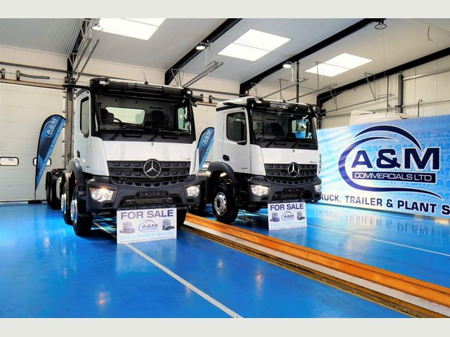 2021 Mercedes-Benz AROCS 3240 8X4  CHASSIS CAB EURO 6 CHOICE Image