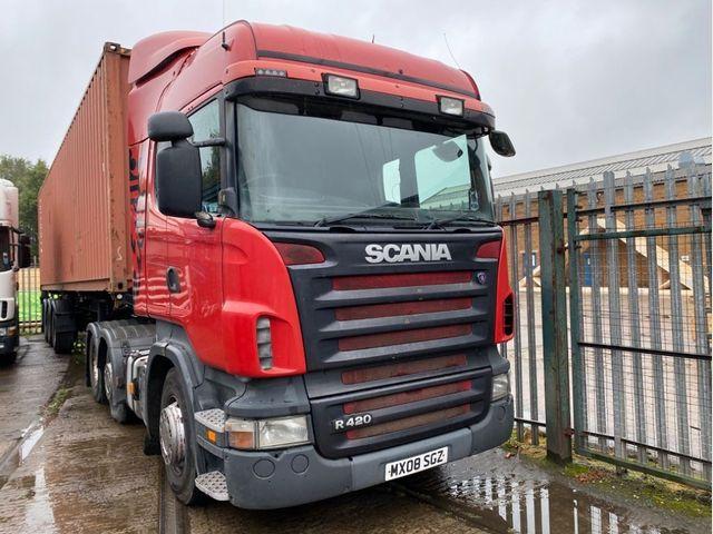 2008 (08) Scania R-SRS L-CLASS R 420 LA6X2/4 HRS Image