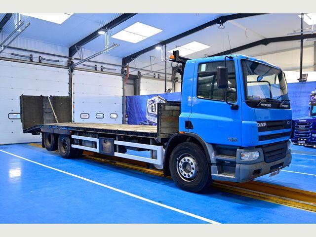 2006 (06) DAF CF75 310 Beavertail Euro 3 Image