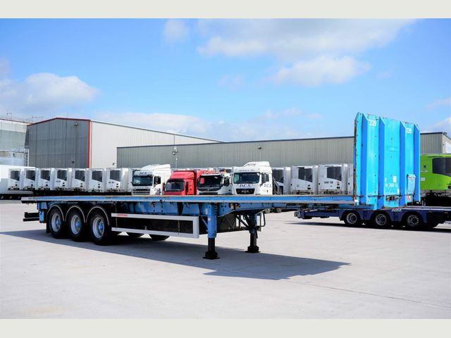 2012 SDC FLATBED TRAILER CHOICE Image