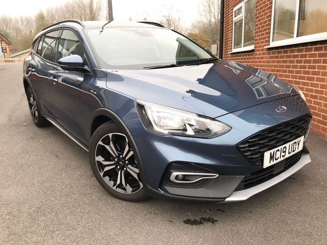Ford Focus Estate 1.0T EcoBoost Active X Auto (s/s) 5dr