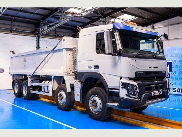 2015 (64) Volvo FMX 420 8X4 TIPPER EURO 6 Image