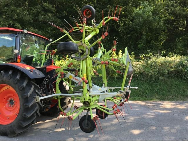 2014 Claas Volto 800 6 rotor tedder Image