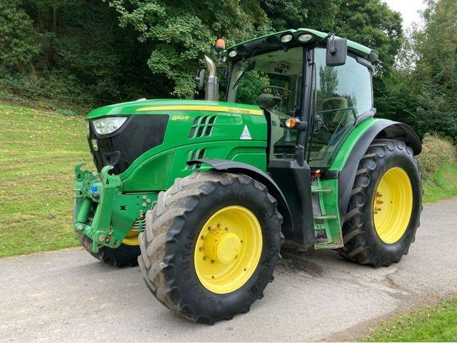 2013 John Deere 6140R Tractor Image