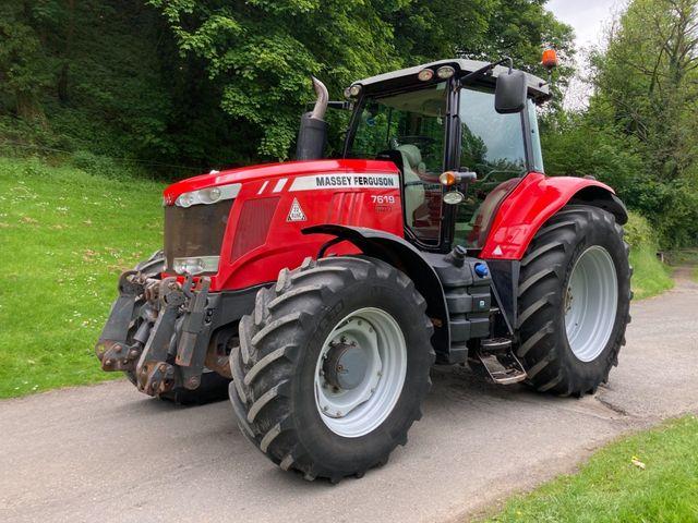 2013 Massey Ferguson 7619 Dyna-VT Tractor Image