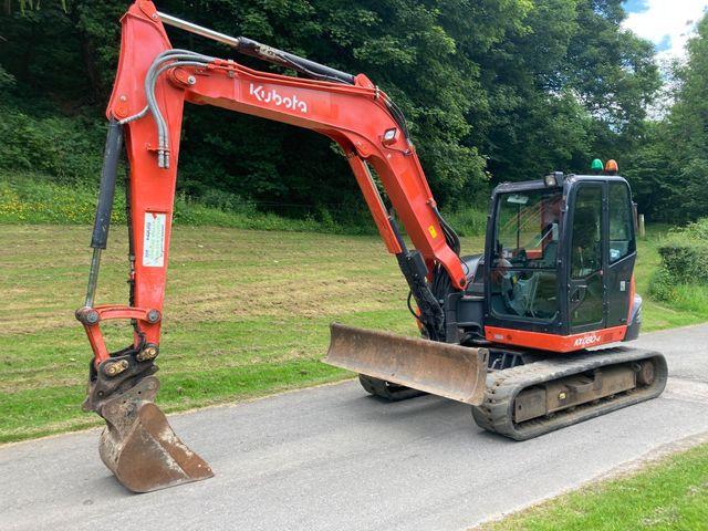 2014 Kubota KX080-4 Excavator Image