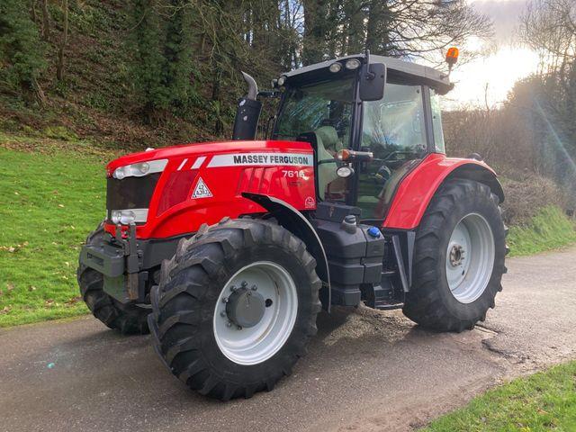 2014 Massey Ferguson 7616 Dyna 6 Tractor Image
