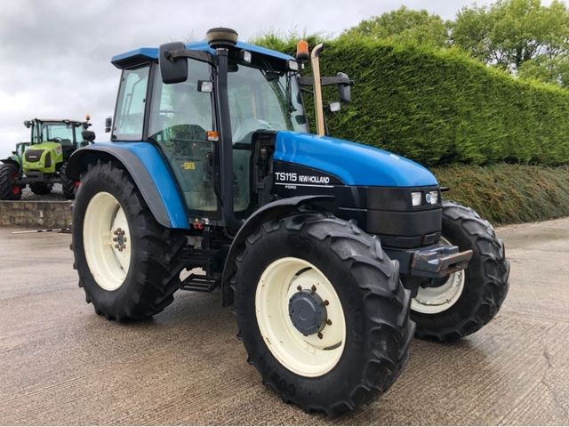 2001 New Holland TS115 TURBO Image