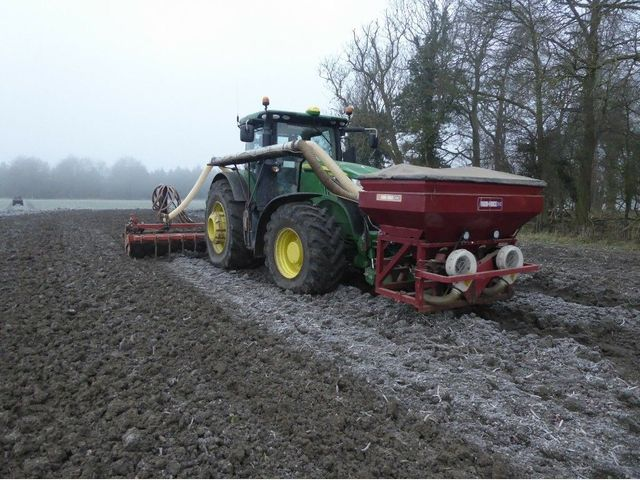 KRM 6m folding tine optidrill Image