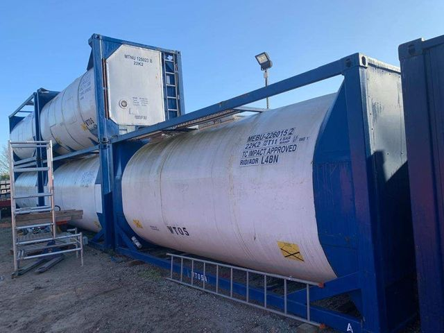 2008 ACM ISO Stainless Steel Tanks Image