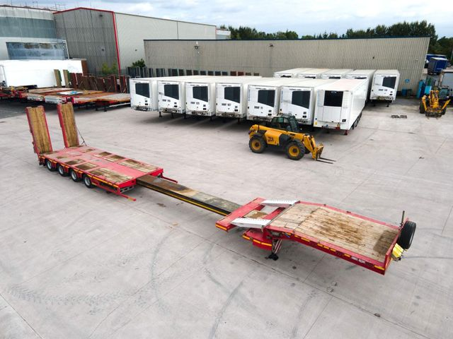 2019 Faymonville 4 AXLE EXTENDABLE 9FT LOW LOADER Image