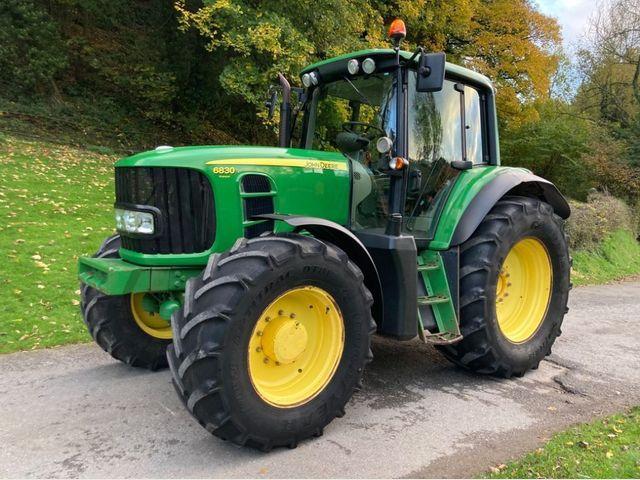 2011 John Deere 6830 Premium Tractor Image