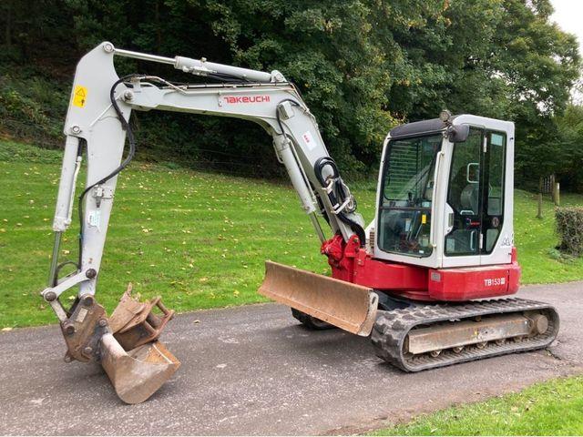 2015 Takeuchi TB153FR Excavator Image