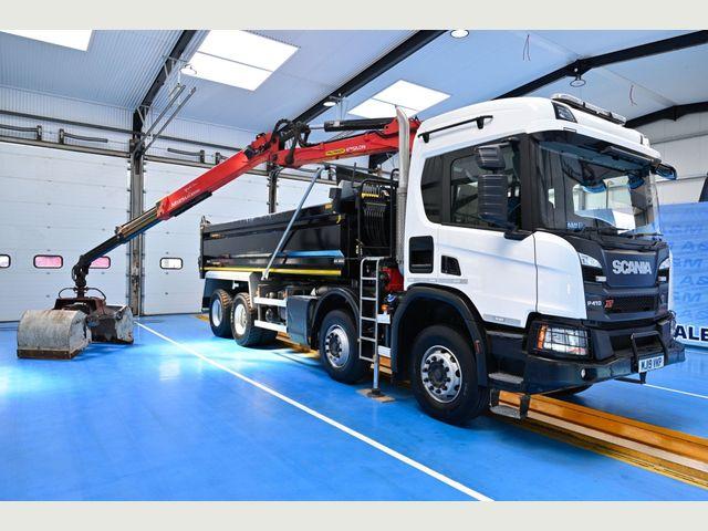 2019 (19) Scania P410 XT TIPPER GRAB EURO 6 Image