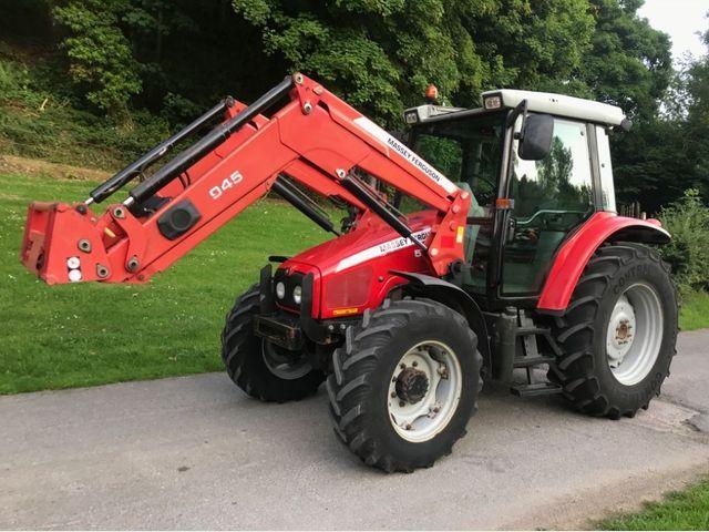 2007 Massey Ferguson 5455 Dyna 4 Tractor c/w 945 loader Image