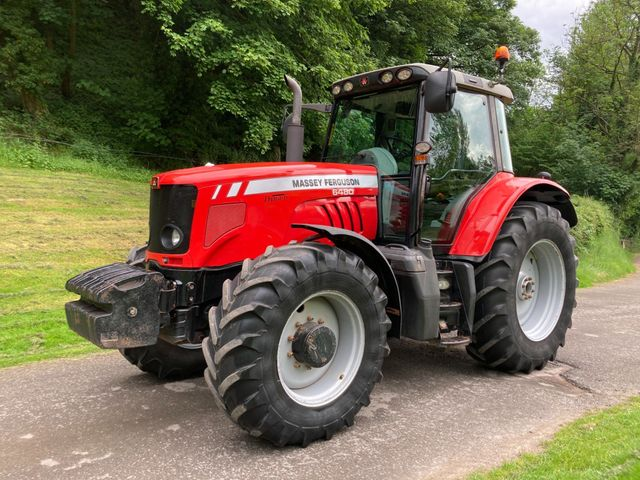 2008 Massey Ferguson 6480 Dyna-6 Tractor c/w Weights Image