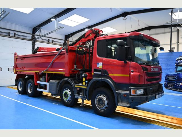 2015 (15) Scania P410 TIPPER EURO 6 Image