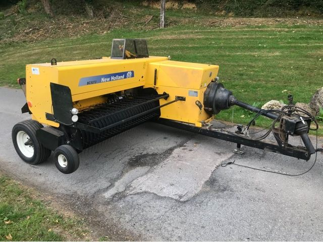 2016 New Holland BC5070 conventional baler Image