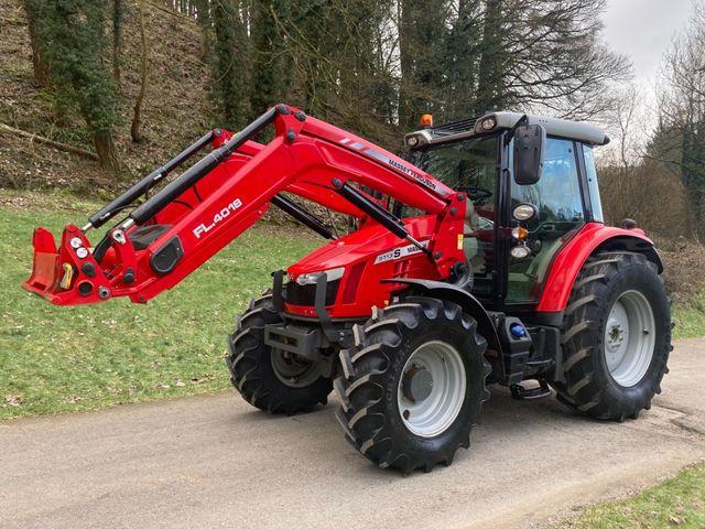 2018 Massey Ferguson 5713S Tractor c/w FL.4018 Loader Image