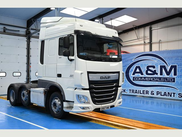 2017 (67) DAF XF 460  SPACECAB EURO 6 ONLY 291,000KMS Image