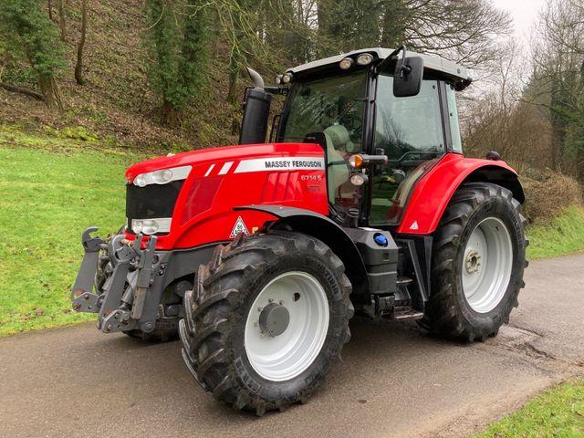 2017 Massey Ferguson 6714S Dyna-6 Tractor Image