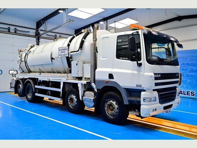 2011 (61) DAF CF 85.360 VAC TANK Image