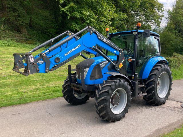 2019 Landini 5-110H Dual Power Tractor c/w MC80 loader Image