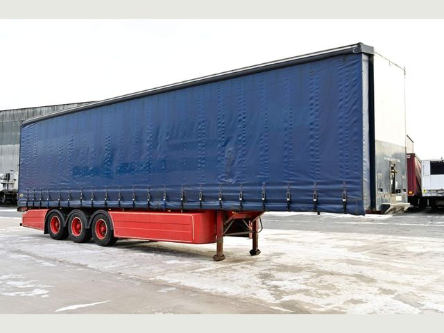 2010 Cartwright 4.59M PILLARLESS CURTAINSIDE TRAILER Image