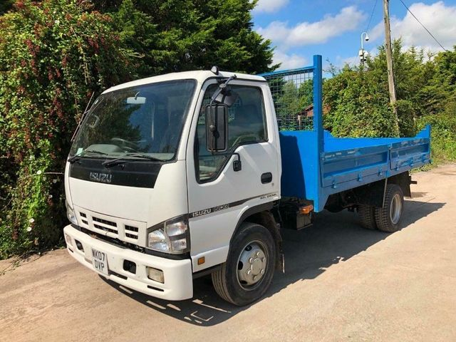 2007 (07) Isuzu NQR TIPPER 7.5 TON STEEL DROPSIDE BODY Image