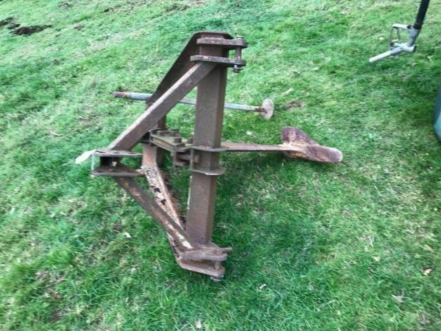 Sub soiler - three point linkage £450 plus vat £540 Image