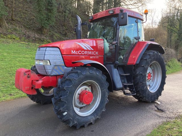 2003 Mccormick MTX125 Tractor Image