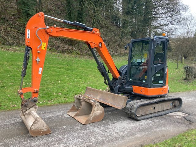 2017 Hitachi Zaxis ZX48U-5A Excavator Image