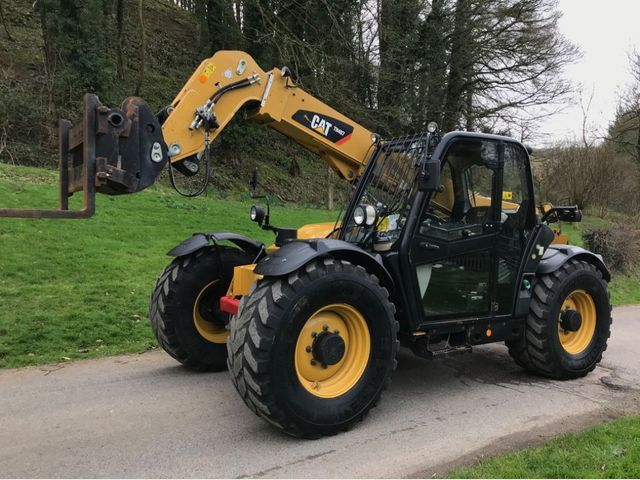 2012 Caterpillar TH407 AG Telehandler Image