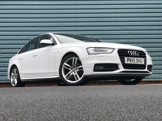 2015 Audi A4 2.0TD S Line (150ps) (s/s) Multitronic (15 reg)