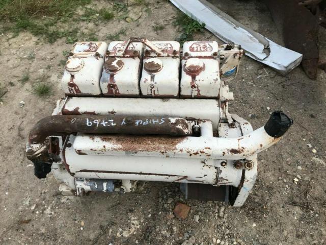 Lister 4 cylinder engine SR 4 - for spares £460 plus vat £552 Image
