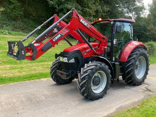 2016 Case Farmall 95U Pro Tractor c/w MX U308 Loader Image